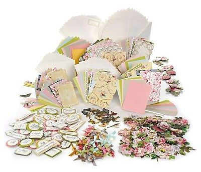 Anna Griffin® FLORAL IMPRESSIONS Cardmaking Kit | Makes 48 Cards | Roses Flowers