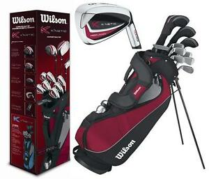 Wilson-Staff-KNetic-Full-Golf-Set-inc-Stand-Bag-NEW-Mens-Golf-Clubs-Set