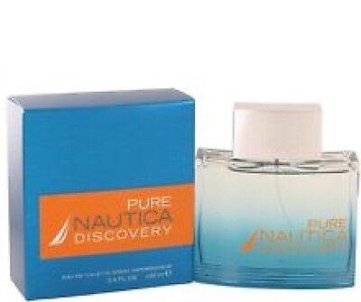 PURE NAUTICA DISCOVERY 3.3 3.4 oz EDT Spray Men's Cologne 100 ml /
