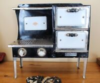 Old Antique Empire Metal Ware Stove - Child Size
