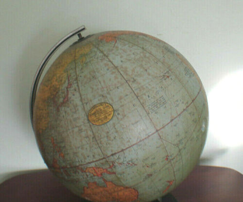 "Hammond 12"" Terrestial Globe 1930's Good Condition"