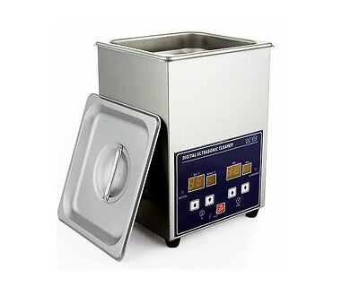 2l 70w Jewelry Digital Stainless Steel Ultrasonic Cleaner Heater Timer