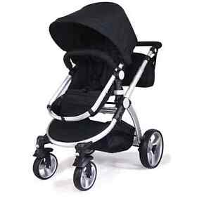 NEW 2 IN 1 BABY TODLER STROLLER ALUMINUM  WITH BASSINET Maidstone Maribyrnong Area Preview
