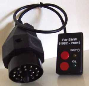 2002 and Older BMW Oil Service Inspection Light Reset Tool