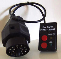 BMW Oil Service & Inspection Light Reset Tool
