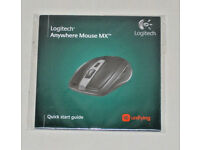 LOGITECH ANYWHERE MOUSE MX SETPOINT 4.80H CD QUICK START GUIDE BRAND NEW SEALED.