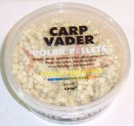 Carp Vader hook pellets x 3 tubs