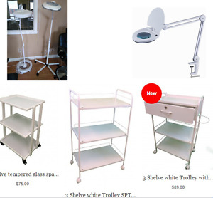 salon de coiffure chariot/trolley cats/LED Magnifying Lamp   sal