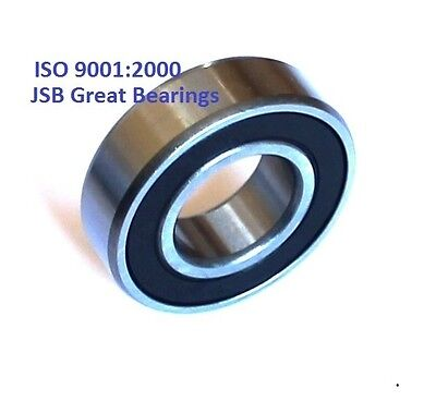 Qty.2 6201-2rs Ball Bearings Two Side Rubber Seals Bearing 6201-rs 6201 Rs