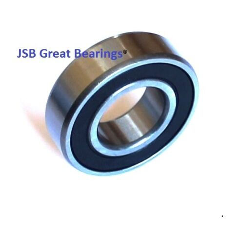 """1641-2RS rubber seals bearing 1 inch bore 1641-rs ball bearing 1""""x 2"""" x 9/16"""""""