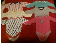 Baby Girl clothes 0-3 months f1 each