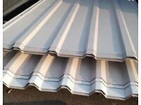 Box profile roof sheets -Used