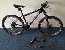 8-months bike, shimano deore, rock shox