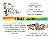 Home Childcare Available (Fischer-Hallman and Highland area)