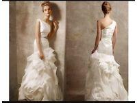 White by Vera Wang Wedding Dress - size UK 12