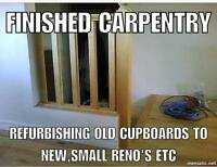 "custom cabinets and kitchen reno""s"
