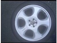 "MERCEDES BRABUS AMG 20"" ALLOY WHEELS WITH NEW WINTER TYRES"