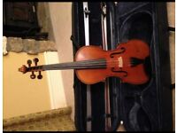 VIOLIN. Full size (4/4) violin. Hand made in Germany