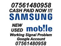 Wanted Samsung Galaxy Note 8, S8, S8+, S7, S7 Edge Working CASH PAID NOW