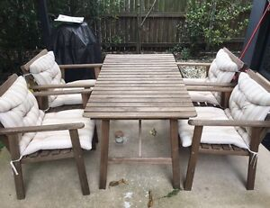 Four piece outdoor setting Lutwyche Brisbane North East Preview