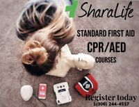 SharaLife: Standard First Aid CPR/AED Courses