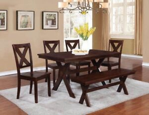 Real Wood Dining Set. retails $800-1000
