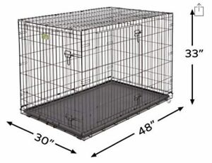 """30""""x48""""x33"""" Extra Large Dog Crate"""