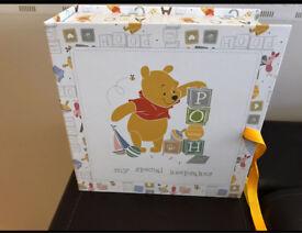 Winnie The Pooh Baby Keepsakes Box