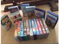 Disney and Dreamworks VHS Videos X 18