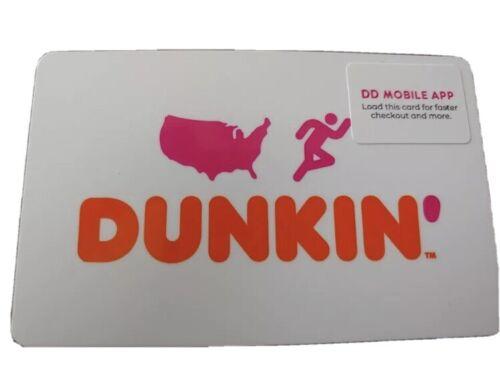60.00 DUNKIN DONUT Gift Card - $54.00