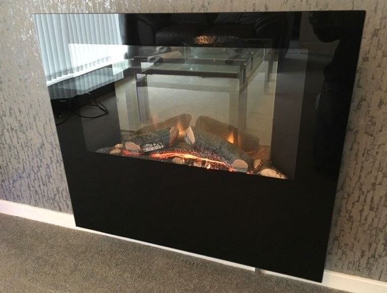 Dimplex Obsidian Wall Mounted Remote Control Electric Fire | OBS20 | in  Charlbury, Oxfordshire | Gumtree