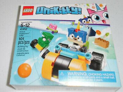 LEGO Unikitty Prince Puppycorn Trike 41452 101 Piece Building Toy Set Kit ()
