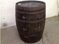 Barrel - wooden - ex Blair Athol whisky cask