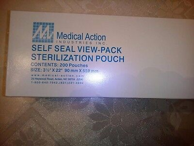 Medical Action 565 Self Seal View-pack Steriled Pouch 312 X 11 Box200 0719