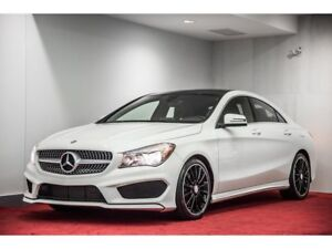 GREAT CONDITION-MERCEDES-BENZ 2016 CLA250 4MATIC COUPE