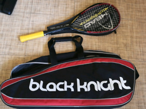 Head squash racquet and bag
