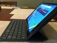Nexus 9 tablet with original portfolio keyboard