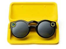 SNAPCHAT SPECTACLES - Warranty - BLACK - NEW - SUNGLASSES THAT CAN SNAPCHAT !