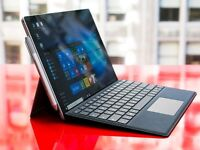Almost brand new surface pro 4, i5 4G 128gb, include type cover and carry bag