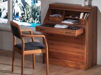 Desk (Bureau - Danish hardwood)