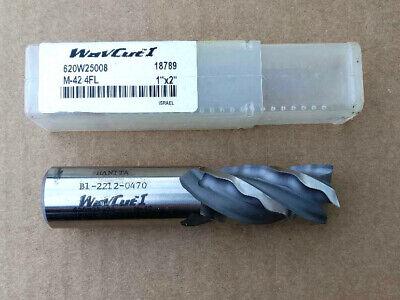 Widia Hanita M-42 Cobalt 1 X 1 X 2 X 4 Wavecut Roughing End Mill