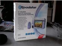 Roadstar 4in LCD colour TV / Monitor