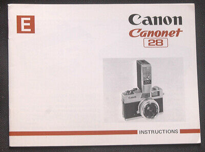 Canon Canonet 28 Camera Owners covid 19 (Canon Camera Owners Manual coronavirus)
