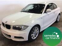 £193.83 PER MONTH 2011 1 SERIES BMW 118 2.0 M SPORT 2 DOOR COUPE DIESEL MANUAL