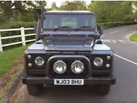 2003 Land Rover DEFENDER 90 2.5 TD5 County Station Wagon
