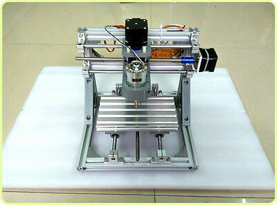 Mini Diy Cnc Mill Router Kit Desktop Engraver Pcb Milling Cutting Machine Usa