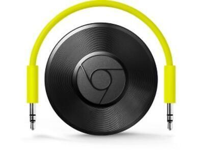 Google Chromecast Audio 2nd Generation Music Media Streamer USB Wi-Fi Aux