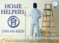 Worry free professional Painting service. Call Home Helpers