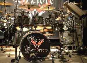 Ayotte custom finish drum kit