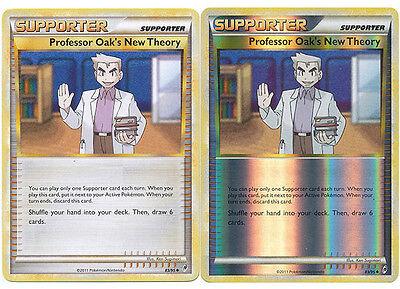 Professor Oak's New Theory Uncommon Pokemon Card Call of Legends 83/95